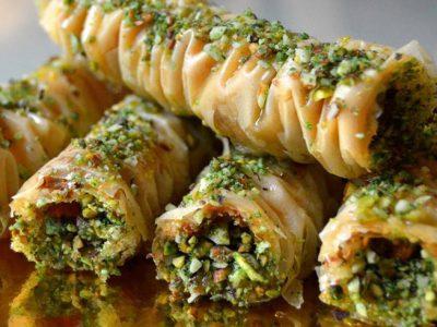 Persische Süßigkeiten Baklava